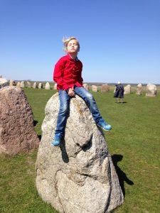 58 stenar räknades in