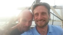 Johan och Thomas, två alltid lika glada och positiva killar