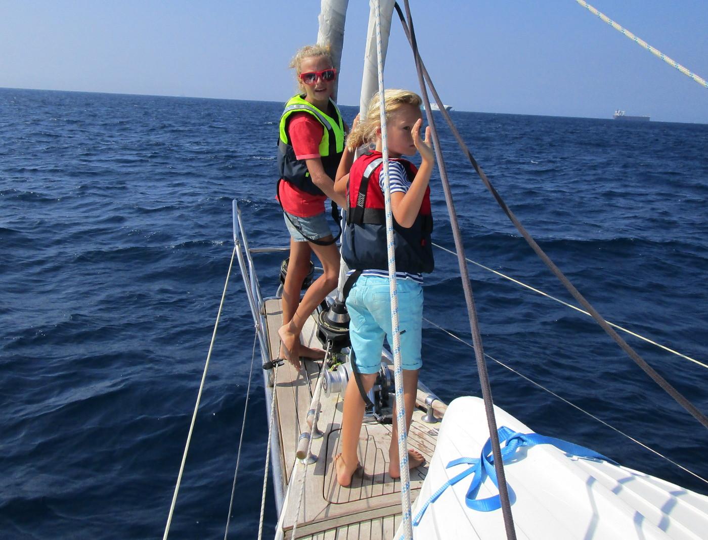 Mathilda och Troels på väg mot Afrika