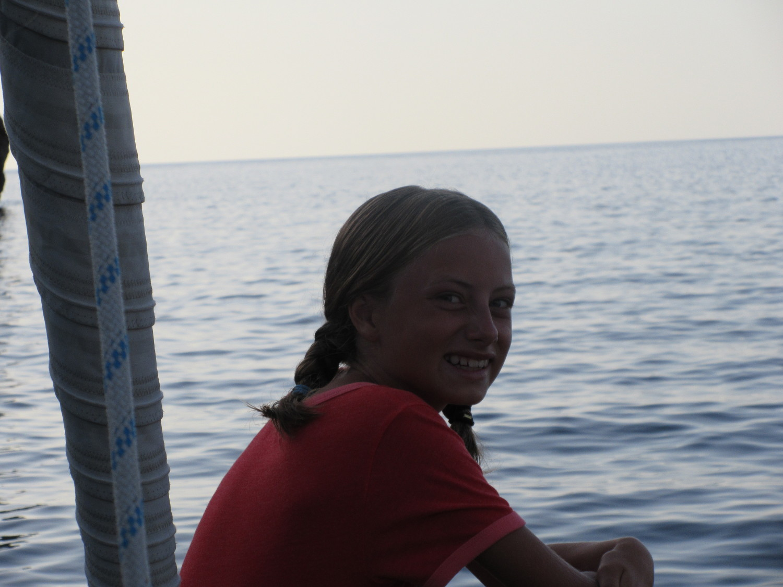 Mathilda på havet