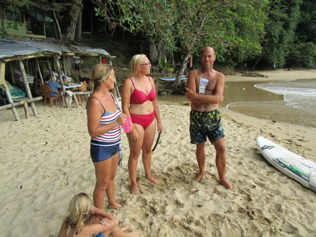 Strandhäng med Robert och Anneke