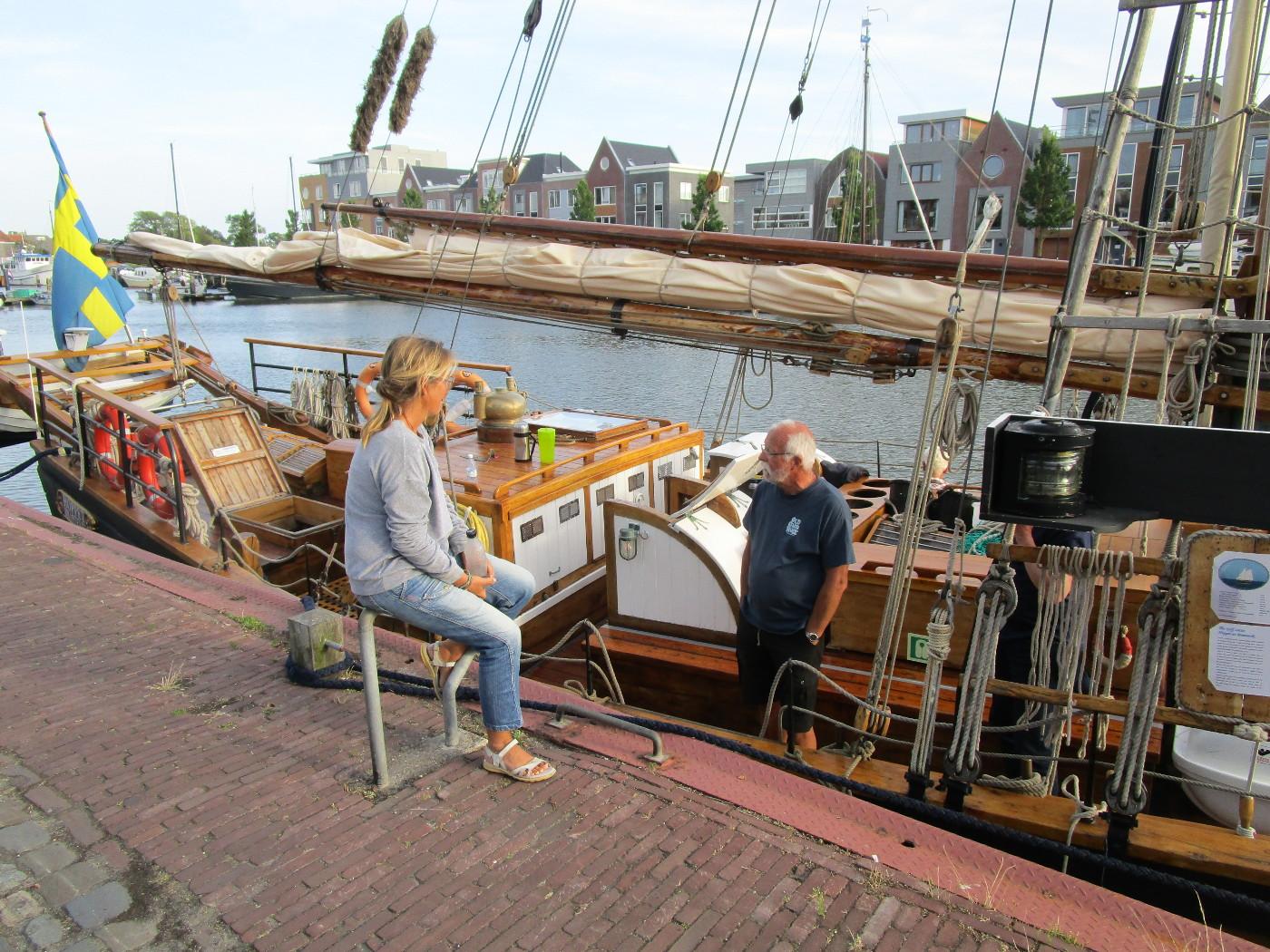 I Harlinge mötte vi Hoppet av Brantevik