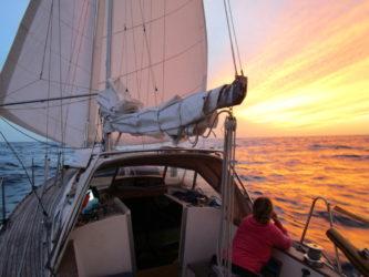 På väg mot Kape Verde