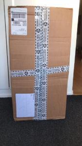 Paket i hallen