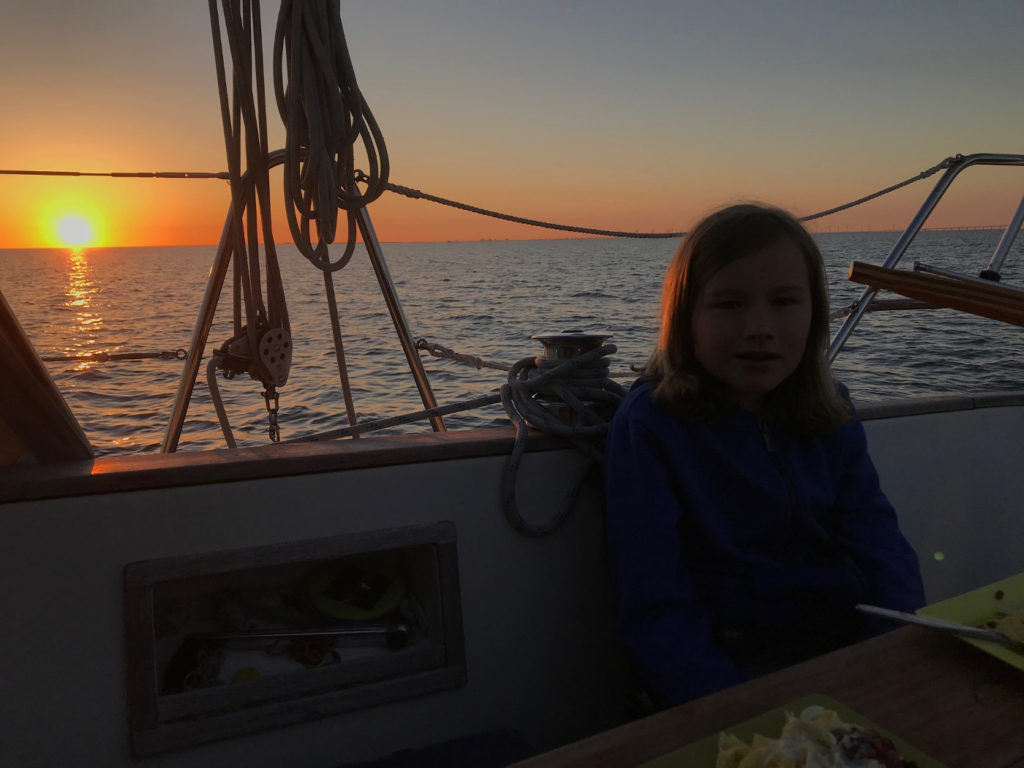 Troels solnedgång